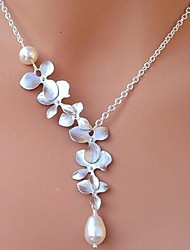 Women's European And American  Fashion  Pearl   Necklace