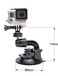 monter graisse chat m-sc 90mm super voiture puissante ventouse pour GoPro Hero 4 / 3+ / 3/2/1 / sj4000