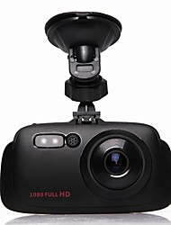 3.5 Inch 1080P HD Car DVR With LED Night Vision 170 Degree Wide Angle View