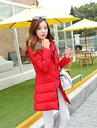 YIBEIER® Women's Luxury Collars Casual Slim Down Coat