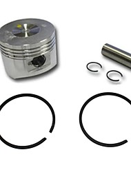 40mm Piston and Ring Set For Pocket Bike 2 Stroke Kids Motocross Gas Scooter Motorized Bicycle