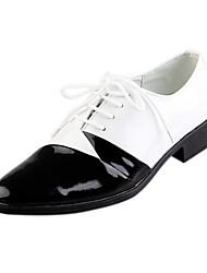 TPU Black&White Dress Shoe