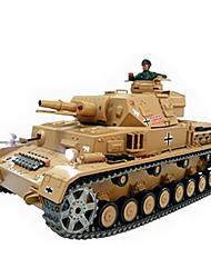 1/16 dak Pz.Kpfw-4 Ausf.F-1 con el humo y el tanque del rc sonido