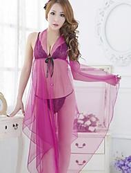 abito trasparente sexy delle donne