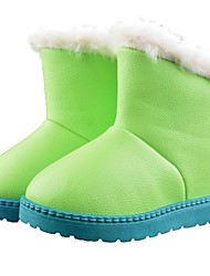 comforable lindas botas de esqui térmicas pu do miúdo