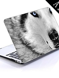 Best Ever White Wolf Design Full-Body Protective Plastic Case for 11-inch/13-inch New Mac Book Air