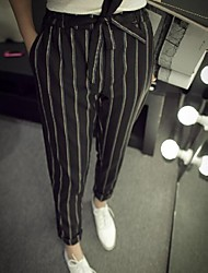 Women's Gray Harem Pants , Casual