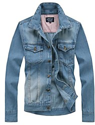 Men's Casual Fashion Denim Jacket