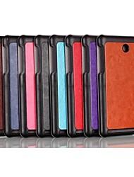 Caso del patrón de triple plegado de alta calidad de la PU leather 8 pulgadas para la tableta Iconia Acer a1-840 (colores surtidos)