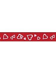 Impressão em fita padrão empresa xinxin costela 3/8 polegadas da fita 25 metros por rolo (mais cores)