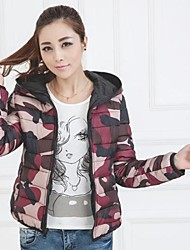 Women's Wear Couple On Both Sides Of Cotton Padded Clothes  Jacket(More Colors)