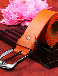Orange PU Belt