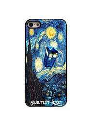 Personalized Phone Case - House and Tree Design Metal Case for iPhone 5/5S