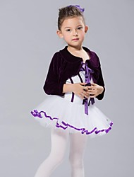Kids' Dancewear Tops Women's / Children's Cotton / Velvet Ballet Long Sleeve