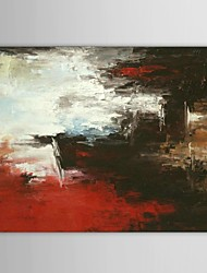 Hand Painted Oil Painting Abstract Beach Scenery with Stretched Frame