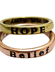 Ring Women's Non Stone Alloy Alloy As the Picture