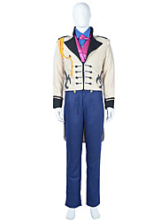 Snow Prince Hans Party Formal Wear Cosplay Costume Halloween Costumes