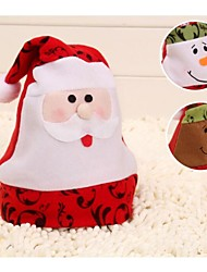 High profile Villus Hat with Braids Christmas Hats Santa Hat
