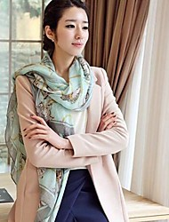 SUIDE Women's 2014 New Winter Scarf Korean Version Of Voile Scarf B08 28Blue