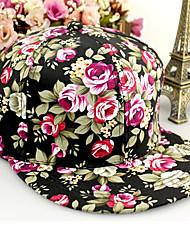 Celebrities Floral Print Vintage Hat