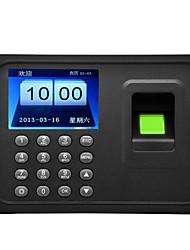 Danmini A6 2.4 Inch TFT Screen Fingerprint Time Attendance Machine