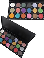 21 Eyeshadow Palette Dry / Shimmer / Mineral Eyeshadow palette Powder Normal