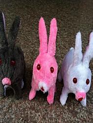 Electric Simulation Rabbit Plush Toy(Color Random)