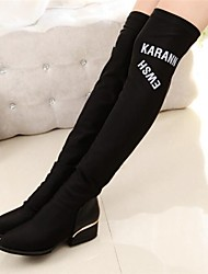 Women's Shoes Fashion Boots Chunky Heel Over The Knee Boots More Colors available