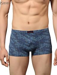 2014 homens marca abetos ostenta boxers modelo casuais Shorts da manta de boxers de algodão confortáveis