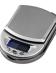 мини весы ювелирные изделия карман электронные весы 500g / 0.1g, пластик 10x7x2.5cm