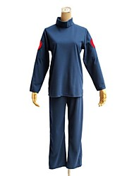 naruto hatake kakashi azul ninja de traje traje de cosplay