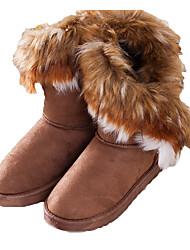 Hobo женщин вскользь теплая квартира пятки лисицы снегоступы верблюд