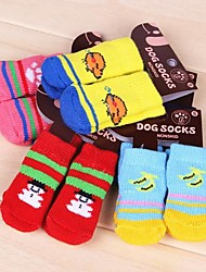 Socks & Boots for Dogs / Cats Winter Wedding / Cosplay S / M / L Cotton