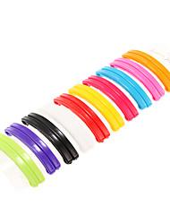 Multicolor Rainbow Hair Clips
