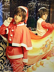 Hetalia Italy Feliciano Vargas Red Christmas Costume