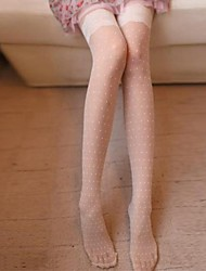 Women Thin Pantyhose , Velvet/Core Spun Yarn