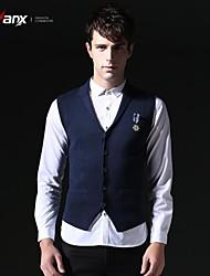 Genanx® Personality Knitting Cardigan Sweater Vest B155
