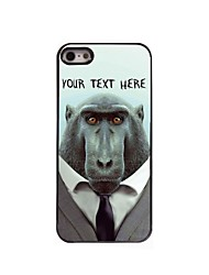 Personalized Phone Case - Baboon Design Metal Case for iPhone 5/5S