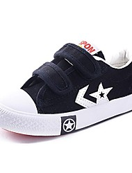Boy's / Girl's Sneakers Spring / Fall Slide / Comfort Canvas / Calf Hair Outdoor / Athletic / Casual Flat Heel Magic TapeBlack / Blue /