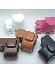 pajiatu PU-Leder Kamera Schutztasche Tasche für Sony NEX-5R NEX-5t nex-5tl 5r 5t 16-50mm Objektiv