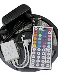 Waterproof 5M 300X3528 SMD RGB LED Strip Light and 44Key Remote Controller and 3A AU Power Supply (AC110-240V)