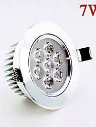 7W 630lm  LED Ceiling Lamp Spot Lights White/Warm White Efficient Heat Sink AC85-265V