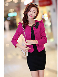 Mufans Women's Double Breasted Big Size Suit Coat 1502#