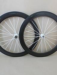 udelsa 650c roues carbone route 50mm pneu 20.5mm de large roues de vélo f: 20h r: 24h