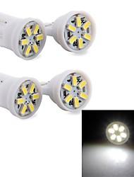 t10 6 LED 3014 ampoule porte la plaque d'immatriculation voiture cms de coin DC 12V 4pcs jhk558001