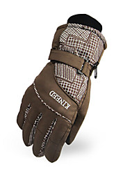 KINEED Men's Anti-wear Full Finger Skiing Gloves