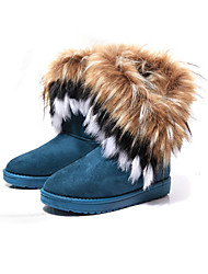 Solid Color All Match Fur Snow Boots