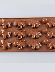Environmental Silicone Dinosaur Shaped Chocolate  Mold