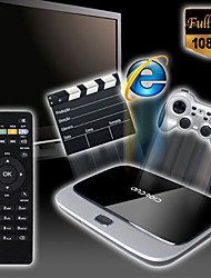 x6 Android 4.4 смарт-коробка TV (Wi-Fi, синий зуб, LAN, USB, HDMI, TF)