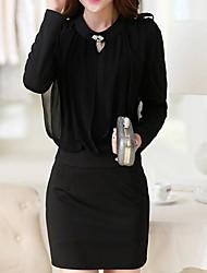 vestido de la falda de la cadera del bolso del lápiz de la señora de las mujeres (más colores)